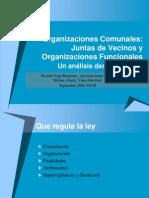 Las Juntas de Vecinos y Org. Com Unit Arias, Fech