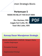 Manajemen Strategi 5