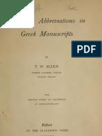 Greek Abbreviations