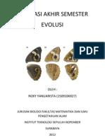 Evaluasi Akhir Semester Evolusi
