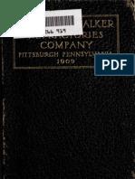 Catalog of Harbison-Walker Refractories CO, Pittsburgh PA 1908