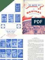 The Master Key to Revival by W. v. Grant, Sr