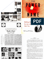 The Power in the Name by W. v. Grant, Sr