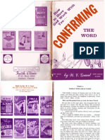 How to Have God Work With You Confirming the Word by W. V. Grant, Sr