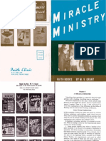 Miracle Ministry by W. v. Grant, Sr