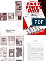 Must I Fast Forty Days or Four Days by W. v. Grant, Sr