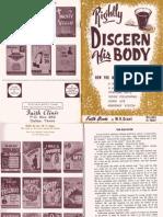 Rightly Discern His Body by W. V. Grant, Sr