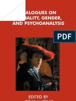 Dialogues on Sexuality Gender and Psychoanalysis