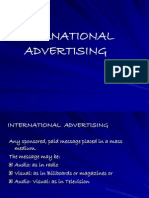 International Advertising
