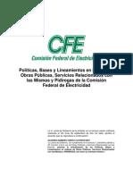 PolticasBasesyLineamientosOPCFE200705nov07