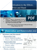 Joint Mobilization to the Elbow, Wrist and Hand2