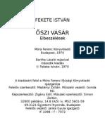 Fekete Istvan Oszi Vasar