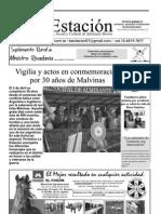 Periodico La Estación, Abril 2012