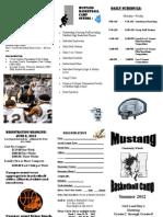 2012 Summer Basketball Camp Grades 2-8
