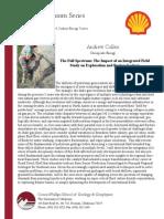 CPSGG Shell Colloquium Spring '12 - 4-5 Andrew Cullen