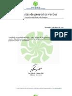 Propuestas de Proyectos Verdes Sayab