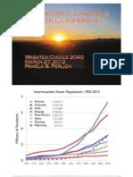Consortium WFRC 2012 Data Slides