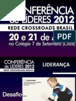 Apresentação CONFERENCIA 2012