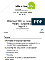 Baalsrud Hauge_ICT for Sustainable Freight Transport and Logistics