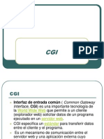 desarrollo webCGI