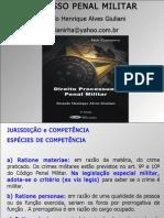 AULA PROCESSO PENAL MILITAR CAPITÃO DA BM