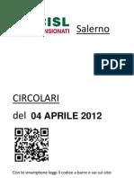 Circolari Del 04 Aprile 2012