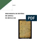 Alguma bibliografia de História em Angola e Recife no século XIX