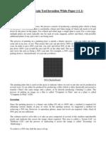 Dot Gain Invention White Paper