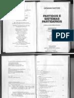1976 Sartori Partidos e Sistemas Partidarios II Os Sistemas Partidarios Parte1de3
