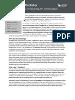 Leading Global Publisher - API Orchestration