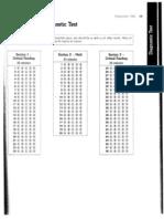 PSAT Diagnostic Test