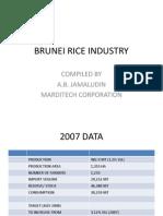 Brunei Rice Industry