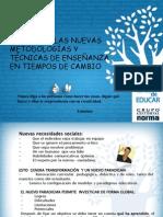 Metodologías y Técnicas de la Enseñanza 1ro a 4to EGB