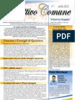 Obiettivo Comune Informa Roseto n. 1