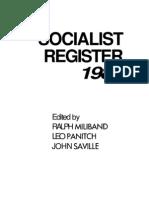 Socialist Register 5556 7452 1 PB