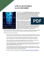 87480334 Death at SeaWorld Press Kit