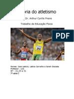 História do atletismo