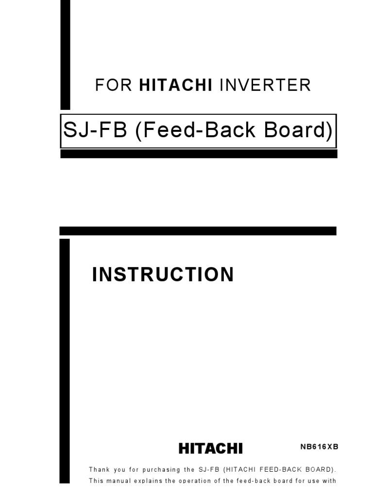 hitachi sj300 manual download