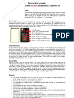 Instruction Manual for PCC