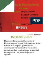Programa de Prevencion Paulina MORA.