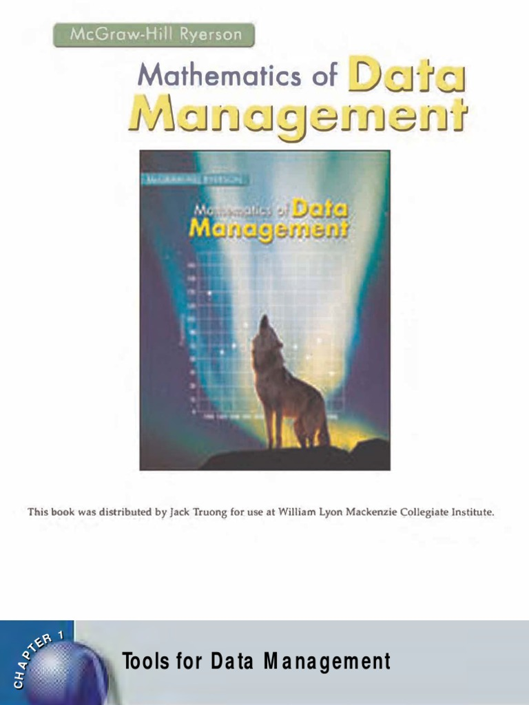 McGraw-Hill - Data Management (Full Textbook Online