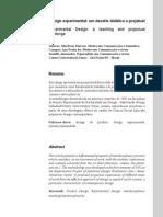 Design experimental_um desafio didático e projetual