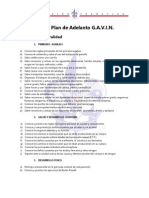 Macro Plan de Adelanto G A V I N