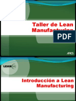 Intro to Lean Manufacturing