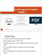 Food Safety Management System L-1
