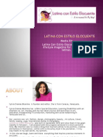 Latina Con Estilo Elocuente Media Kit Final