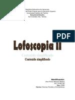 Trabajo de Lofoscopia JHONP