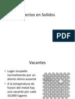 Defectos en Solidos (1)
