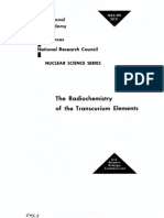 The Radio Chemistry of Trans Curium Elements.us AEC