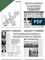 Versión impresa del periódico El mexiquense 4 abril 2012